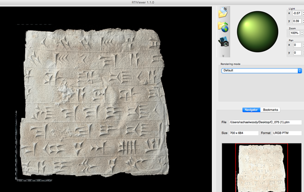 digitized squeeze from the Smithsonian Institution's Freer | Sackler Galleries