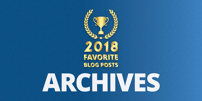 Readers' Choice: Favorite Archives Blog Posts of 2018