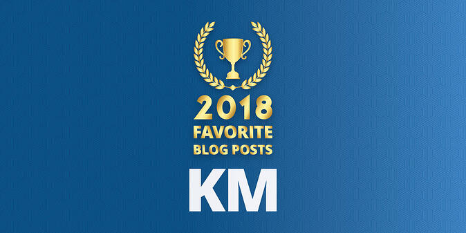 Readers' Choice: Favorite KM Blog Posts of 2018