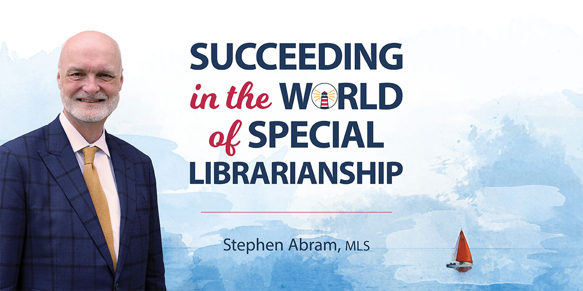 Ready to Read: Succeeding in the World of Special Librarianship